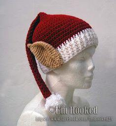 Free Crochet Pattern: Elf Hat