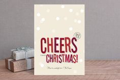 Cheers New Year by Ann Gardner at minted.com