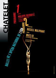 Rudi Meyer, Le Ballet de Lyon Decouflé, Ek, Maliphant, Théâtre du Châtelet, Paris, 2004