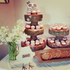 rustic themed baby shower decorations | Rustic owl baby shower theme!
