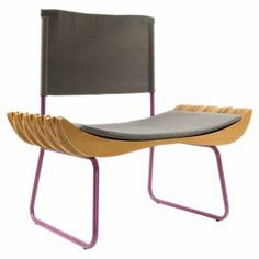 A charming addition to your home, this stunning chair adds a touch of textured style to your scheme. Featuring coloured steel legs, fabric upholstery and a varnished beech wood seat, it teams perfectly with a glass topped table to create a contrasting dining room look. www.gie-el.eu