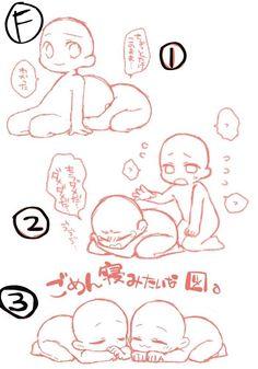 Learn To Draw Manga - Drawing On Demand Drawing Base, Manga Drawing, Chibi Tutorial, Chibi Poses, Chibi Manga, Chibi Cat, Bts Chibi, Art Sketches, Art Drawings
