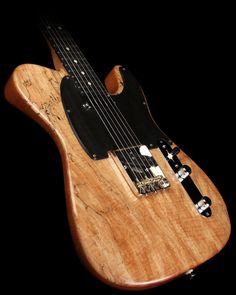 Suhr Exotic Classic T Electric Guitar Spalted Maple