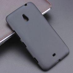 Black Gel TPU Slim Soft Anti Skiding Case Back Cover For Nokia 1320 Lumia 1320 Mobile Phone Rubber silicone Bag Coque Fundas