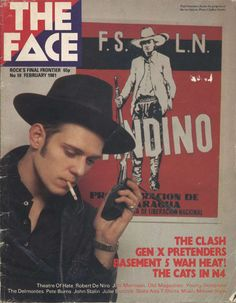 Paul Simonon - The Clash on the cover of The Face The Face Magazine, The Future Is Unwritten, Paul Simonon, Weekend Film, Clash On, Mick Jones, Punk Rock Girls, Pete Burns, Joe Strummer