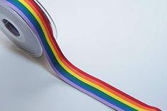 Rainbow Stripes 10mm Ruban x5 m