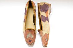 Kilim shoes by Kilims on Etsy