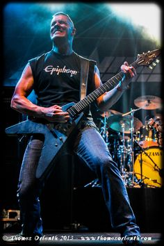 The wonderful Mr. Jeff Waters of Annihilator... Jeff uses Coreblades and GrandMeisters to bring his monstrous sounds!
