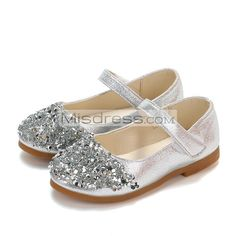 Girls Party Shoes Wedding Christening Bridesmaids Buckle Infants 1,2,3,4,5,6,7,8