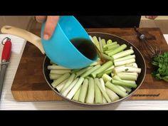 Pırasanın bu şekilde yapılışını bilen YOK bu kadar güzel kimse yapamaz ekşili pırasa yemeği tarifi - YouTube Celery, Vegetables, Kitchen, Recipes, Food, Youtube, Cooking, Kitchens, Recipies