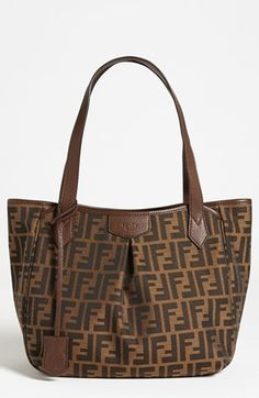 Fendi Zucca Small Pleated Per Available At Nordstrom Tote Online