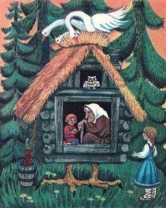 Russian fairy tales famous russian