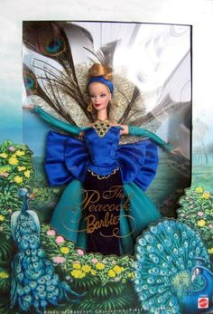 Barbie peacock doll. I love peacocks, and collect Barbies - why do I not have this?