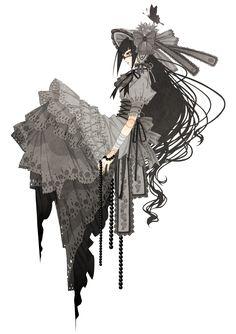 Render - Anime Girl Lolita by Pru-PruWings.deviantart.com on @DeviantArt