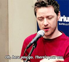 This is the unfortunate truth of how book 2 revisions are going at the moment. Thank you, James McAvoy for providing the perfect gif fodder to illustrate how I'm getting my ass handed to me by complicated revisions. #JamesMcAvoy #McAvoyeur #writing #books