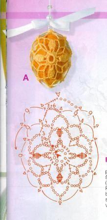 háčkovaná vajíčka