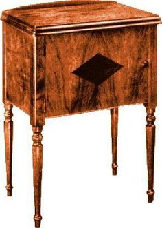 Lovely solid Wood Sewing Machine Cabinets