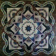 Glacier Star, Quiltworx.com, Made by CI Connie Lange