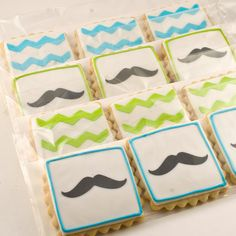 Hey, I found this really awesome Etsy listing at https://www.etsy.com/listing/212279609/chevron-stripe-and-mustache-cookies-24