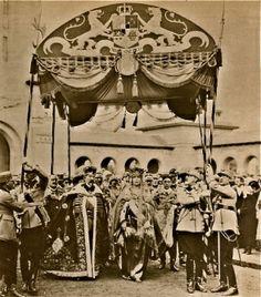 1922 - La coronación del rey Fernando de Rumania y la reina María