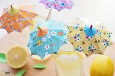 DIY : les ombrelles à cocktail pour les soirées d'été