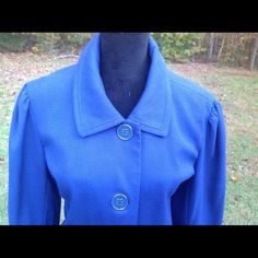 Dialogue Blue Jacket Size Large #Dialogue #BasicJacket #Casual