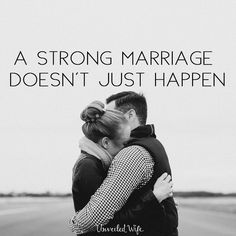 A Strong Marriage Doesn