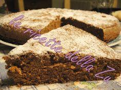 Questa buonissima torta è del cucchiaio d' argento, il mio grande libro che reputo fantastico! INGREDIENTI: 100 g di cioccolato fonde...