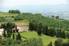 Villa Campestri Olive Oil Resort is built around an ancient 13th century fort.