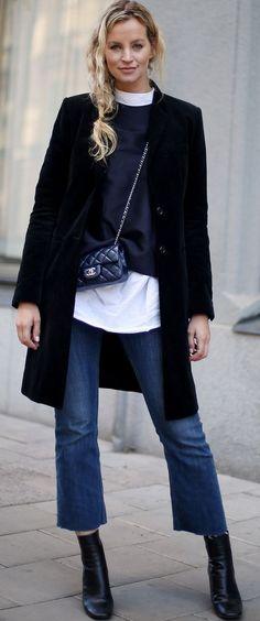 Layers for the street are a go-to look