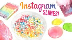 Top 5 AMAZING DIY Slimes from Instagram!!! Oddly Satisfying ASMR Compila...