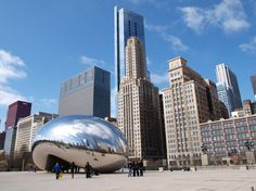 """"""" The Bean"""", a photo from Illinois, Midwest   TrekEarth"""