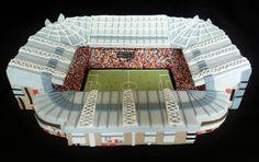Manchester United Football Stadium - Old Trafford by Gina-Molyneux