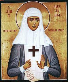 St.pb. Tsarina Alexandra Alexandra Feodorovna, Religious Pictures, Orthodox Icons, Catholic, Russia, Saints, Religion, Sacred Art, Ballerina