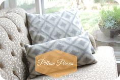 Handmade Home: New Year, New Pillows
