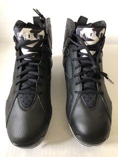 Nike Air Jordan VII 7 Retro Metal sz 9 Mens Baseball Cleats Black 684943  010   f0839219e7