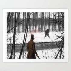 I see you Art Print by Jakub Rozalski - X-Small See You, Just For You, Artwork Prints, Fine Art Prints, Werewolf Art, From The Ground Up, Affordable Art, Buy Frames, Printing Process