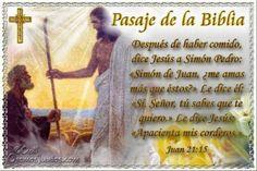 Vidas Santas: Santo Evangelio según san Juan 21:15