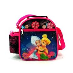 Tinkerbell & Periwinkle Lunch Bag | Insulated Lunch Tote: Amazon.co.uk: Office Products