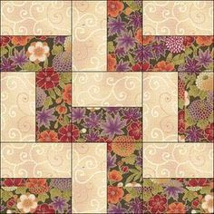 Love this quilt pattern