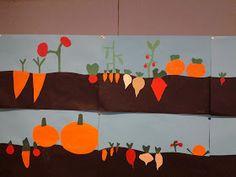 Neljännen luokan sivut: elokuuta 2013 Autumn Trees, Autumn Leaves, Letter Of The Week, Plant Art, Fruit And Veg, Pre School, Art Lessons, Diy And Crafts, Kids Rugs