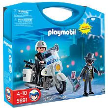 """$8.24 Playmobil Police Carrying Case Playset - Playmobil - Toys """"R"""" Us"""