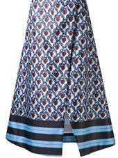 Suno - heart kanga wrap skirt