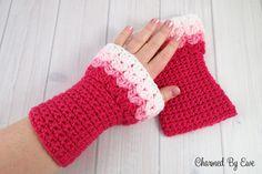 Free Crochet Pattern: Sweetheart Wrist Warmers