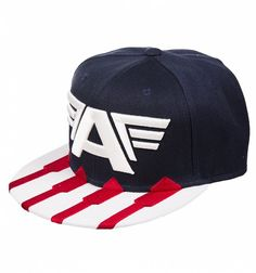 Captain America Star And Stripes Baseball Cap