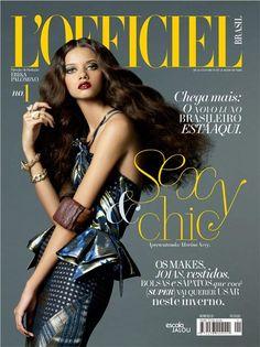 L'Officiel Brazil June 2012 Cover by Paschoal Rodriguez (L'Officiel Brasil)