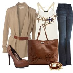 """Business Casual"" by orysa on Polyvore.  I would wear on an Autumn Saturday :)"