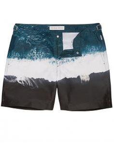 69e8d744ff Image of Orlebar Brown Oceans Edge Bulldog Swim Shorts Mid Length, Swim  Shorts, Sweatpants