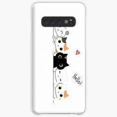 cats phone case Kawaii Phone Case, Diy Phone Case, Dino Kids, Ducky Duck, Flower Graphic, Sky Art, Happy Smile, Desk Organization, Phone Covers