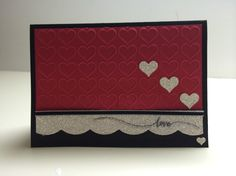 Love and hearts card
